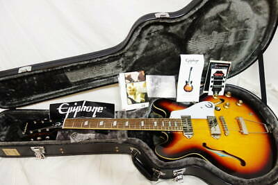 Used Epiphone INSPIRED BY Lennon CASINO E230TD VS Electric Guitar P-90 W/OHSC  • 1,051.89£