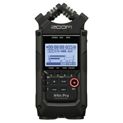 Zoom H4n Pro Handy Portable Recorder, Black • 223.32£