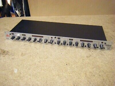 DBX 166XS Compressor / Limiter / Gate. Rack Mounted Dynamic Processor • 11.50£