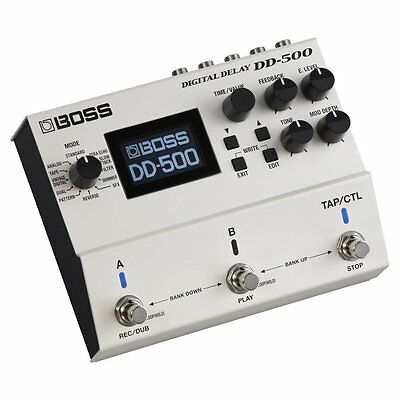 BOSS Digital Delay DD-500 New In Box • 294.40£