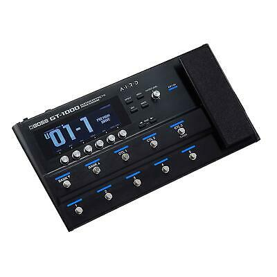 BOSS Guitar Processor GT-1000 Synthesis Modeling & Multi Effects New In Box • 777.23£