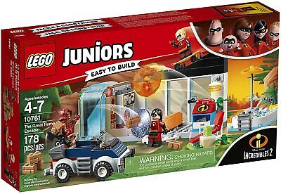 Lego Juniors The Incredibles 10761 THE GREAT HOME ESCAPE Jack Dash Violet New • 62.31£