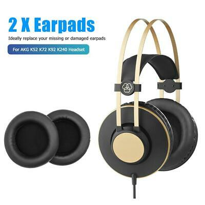 2pcs Ear Pads Memory Foam Sponge Cushion Earpad For AKG K52 K72 K92 K240 Headset • 3.52£