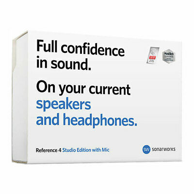 Sonarworks Reference 4 Studio Edition With Mic, Room Correction Software With Me • 234.96£