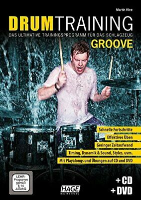 Drum Training Groove + CD + DVD: Das Ultimative. Klee*= • 13.39£