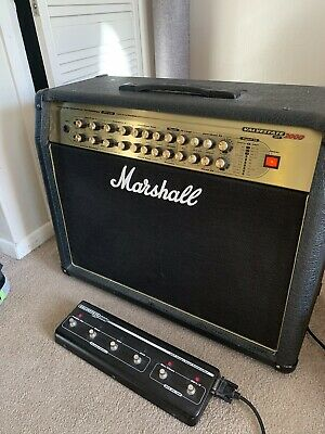 Marshall AVT275 Amp With Genuine Marshall Cover And 6 Way Foot Switch