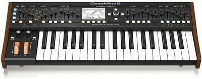 NEW Behringer DEEPMIND 6 Analog 6 Voice Polyphonic Synthesizer From JAPAN • 726.44£