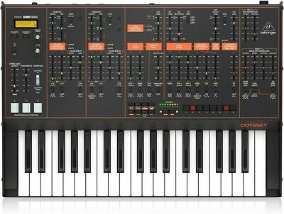NEW Behringer ODYSSEY 37-key Analog Synthesizer From JAPAN • 590£