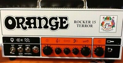 Orange Rocker 15 Terror 15-watt 2-channel Tube Head • 557.04£