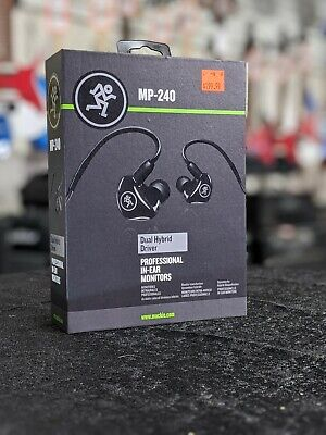 Mackie MP-240 Monitor Earphones • 141.51£