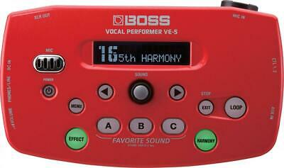 Boss VE-5 Vocal Performer, Red • 179.38£
