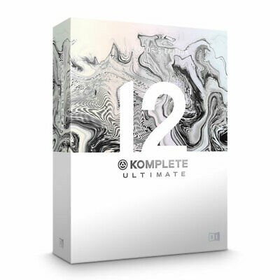 Native Instruments Komplete 12 Ultimate Collectors Edition (Upgrade From Komplet • 404.04£