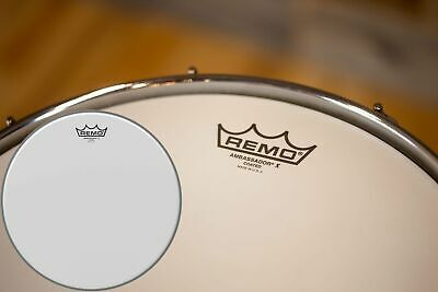 Remo Ambassador X Coated Drum Head (sizes 6  To 24 ) • 16.05£