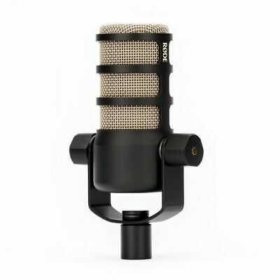 RODE PodMic Podcast-Ready Dynamic Microphone, Internal Pop Shield, Integrated Sw • 77£