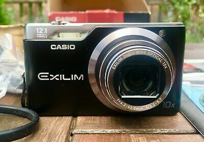 CASIO EXILIM EX-H5 12.1MP With 24mm Wide Lens - 10x Zoom • 23£