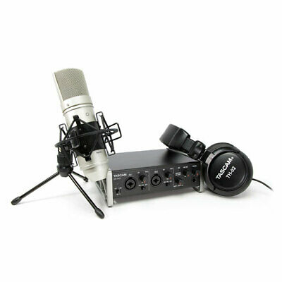 Tascam Track Pack Complete Studio Pack Includes US2X2, TM20,TH02 • 185.04£