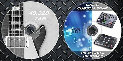 Patches Line6 Helix HX Stomp HX Effects. Multi Effects & 48.328 Guitar Tab Music • 12.99£