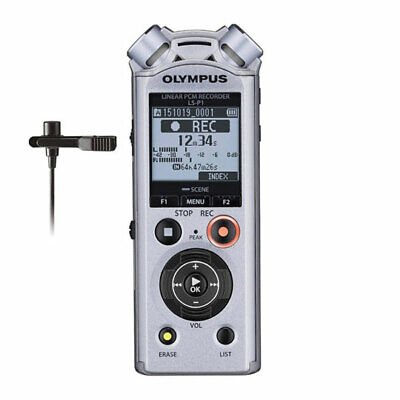 Olympus LS-P1 Lavalier Kit, 60Hz - 20kHz Frequency Response,4 GB Internal Memory • 130.02£