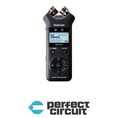 Tascam DR-07X Stereo Handheld Recorder PRO AUDIO - NEW - PERFECT CIRCUIT • 108.35£