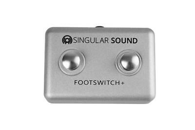 Singular Sound Footswitch+ PLUS 2 Button Footswitch BeatBuddy DRUM Effect Pedal • 49.99£