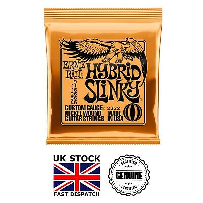 Ernie Ball HYBRID Slinky Electric Guitar Strings *1, 2 & 3 Set Packs* (UK) • 18.49£