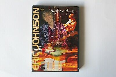 Eric Johnson The Art of Guitar Tuition DVD Learn How To Play Excellent Condition