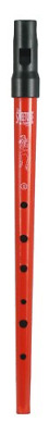 Clarke Tinwhistle Sweetone D Whistle - Red