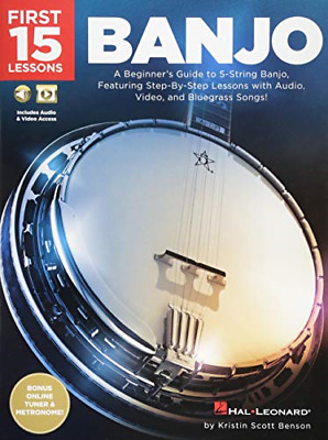 First 15 Lessons Banjo • 9.55£