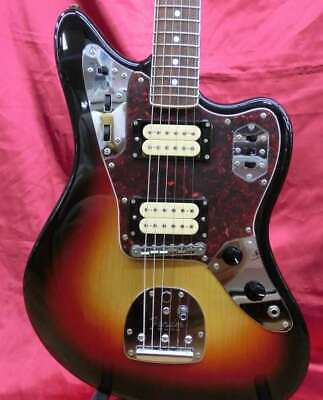 Fender Japan HJG-66KC-Ⅵ Jaguar Guitar 3-Tone Sunburst Kurt Cobain Nirvana W/HC • 1,133.45£