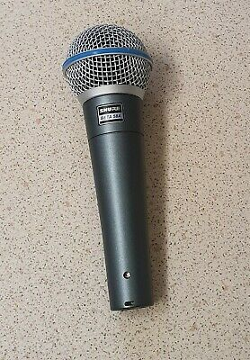 Shure Beta 58A Legendary Dynamic Vocal Radio Ur2 Microphone • 120£