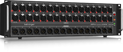 Behringer S32 32-Input Digital Stage Box W/ Midas Mic Pre Amp //ARMENS// • 863.72£