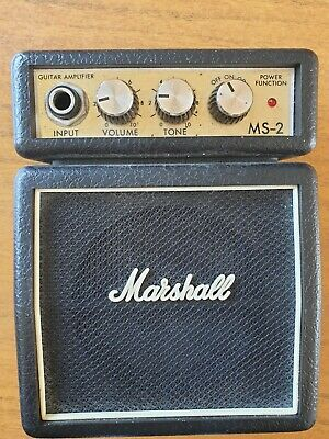 Marshall Mini Guitar Amplifier MS-2  • 5£