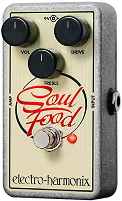 Electro-Harmonix Soul Food Distortion/Fuzz/Overdrive Pedal • 89.13£