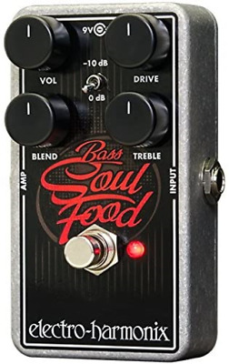 Electro-Harmonix Bass Soul Food Bass Distortion Effects Pedal • 112.95£