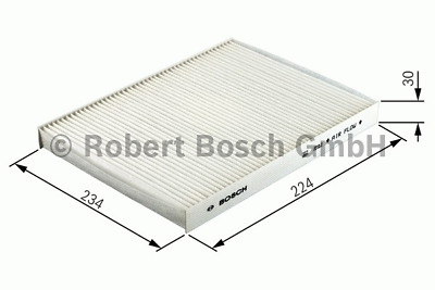 Filter Indoor Air - Bosch 1 987 432 166 • 7.04£