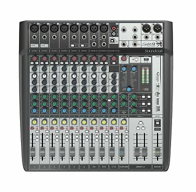 Soundcraft Signature 12MTK Analog 12-Channel Multi-track Mixer With Onboard L... • 469.50£