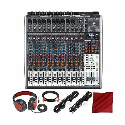 Behringer Xenyx X2442USB 24-Input 4/2-Bus Mixer With USB/Audio Interface And ... • 467.42£