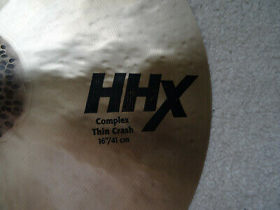 Sabian HHX Complex 16  Thin Crash (962 Grams) • 169.39£