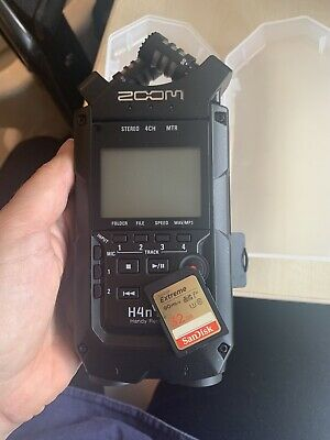 Zoom H4N PRO Handy Recorder All Black WITH 32GB SD Card • 200£