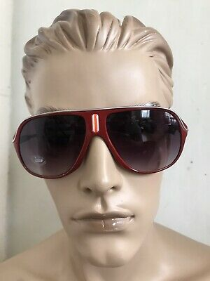 Topman Rare Red Black Lens Oversized Sunglasses With Free Hard Case Bnwt • 12.99£