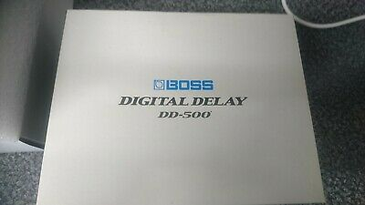 Boss DD 500 Opened Never Used Rrp £399.00 • 234.99£