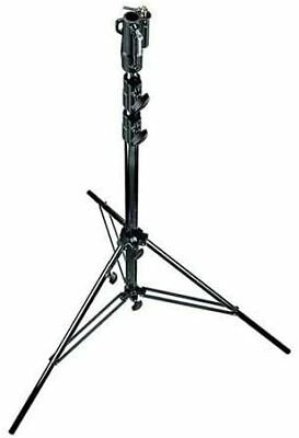 Manfrotto 126BSU 10.9- Feet Black Chrome Plated Steel Heavy Duty Stand • 150.06£