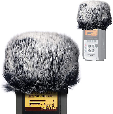 Windscreen Muff For Zoom H2n/H4n Handy Recorders, Zoom Mic Dead Cat Fur Winds... • 12.90£