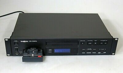 Tascam CD-200iL Professional CD Player With 30-Pin And Lightning IPod Dock • 109.03£