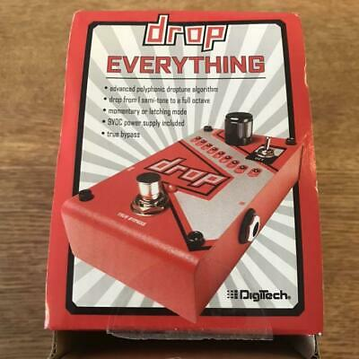 New DigiTech The Drop Polyphonic Drop Tune Pitch-Shifter Guitar Effects Pedal • 177.58£