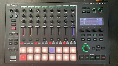 Roland MC-707 Groovebox, Synthesizer, 8 Track Sequencer And Looper • 650£