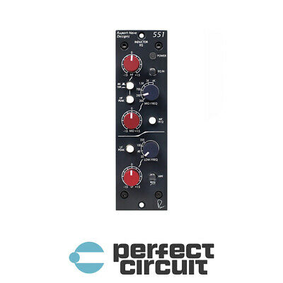 Rupert Neve Designs 551 Inductor EQ PRO AUDIO - NEW - PERFECT CIRCUIT