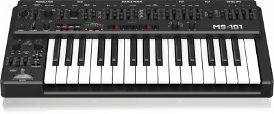 Behringer MS-1-BK 32-Key Keyboard Analog Mono Synth 101 W/Arpeg Black //ARMENS • 278.15£
