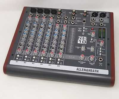Allen Heath And Analog Mixer Zed 10 From Japan