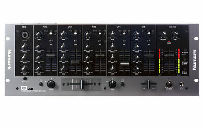 Numark C3USB 5-Channel Mobile DJ Rack Mixer With USB I/O • 239£